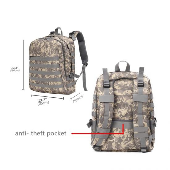 Tactical backpack military rucksack